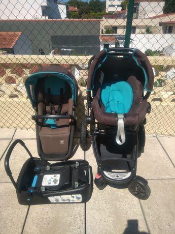 Vendo carrinho de bebé