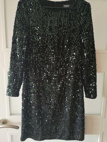 Sukienka cekiny sylwester