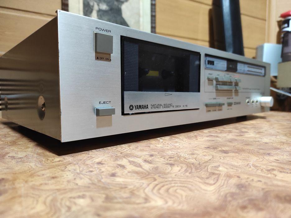 Кассетная дека Yamaha. Made in Japan. Миргород - изображение 1
