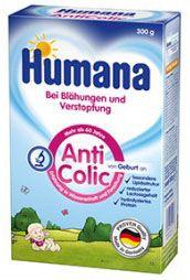 HUMANA Anti Colic, 4 упаковки, суміш для годування, 300г