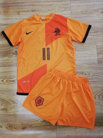 11-12 лет футбольная форма сборная Нидерландов 11 номер Robben