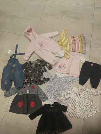 Pakiet ubranek dla dziewczynki od 0-3 miesięcy