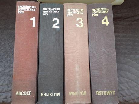 Encyklopedia powszechna PWN  - 4 tomy.