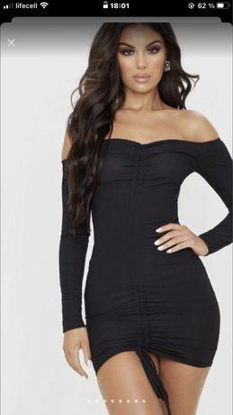 Малюсенькое черное платье prettylittlething с биркой