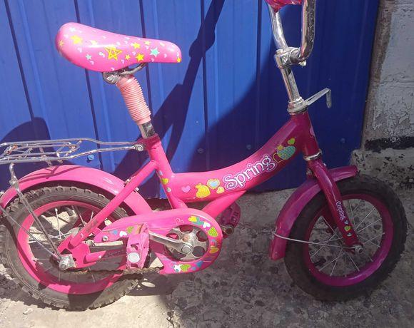 Велосипед для девочки 3-5 лет