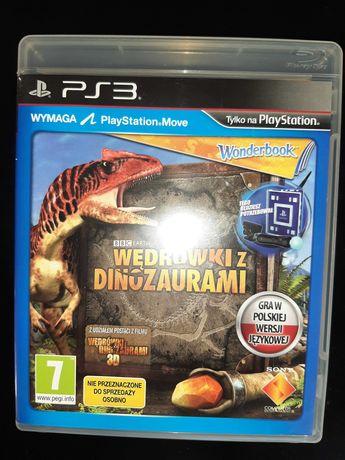 PS3 Wędrówki z dinozaurami PL + opakowanie + Wonderbook