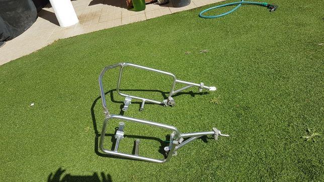 Touratech ferros para malas laterais aluminio