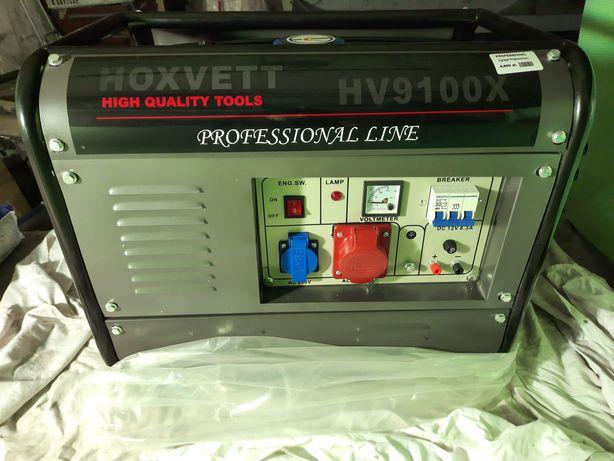 Agregat prądotwórczy Hoxvett HV9100X Generator Nowy nie używany!