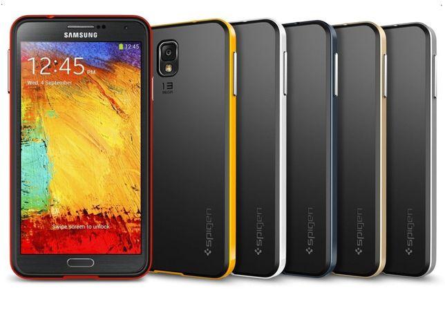 Чехол Spigen Neo Hybrid для Samsung Note 3 4 5 8 S4 S5 S6 Edge S7 S8