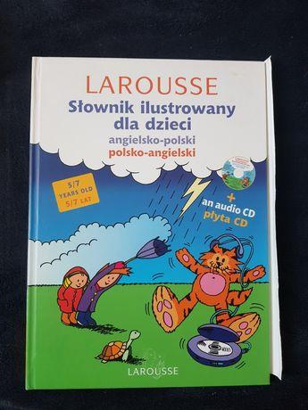 Słownik ilustrowany dla dzieci do nauki angielskiego