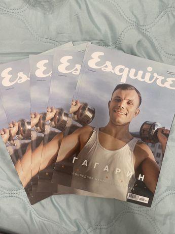 Журнал Esquire Гагарин апрель 2021