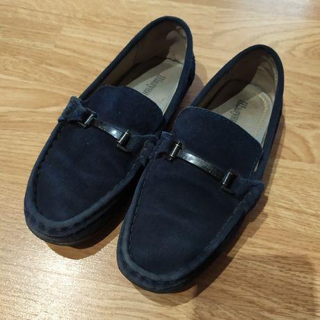 Туфли замшевые на мальчика!