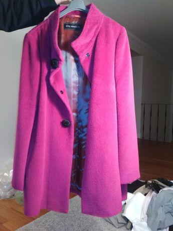 Płaszcz zimowy w kolorze fuksji