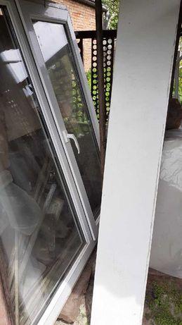 Продам металопластикове вікно двокамерне з підвіконником