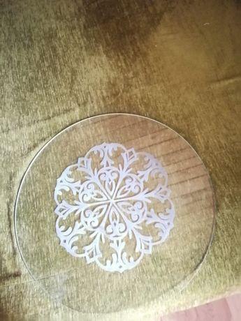 Szklany  blat  na stolik