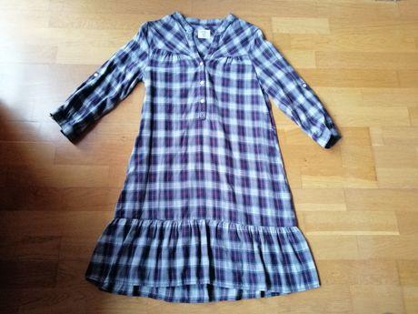 Sukienka z falbanką H&M