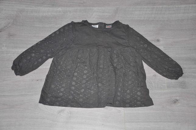 ZARA BABY bluzka W KWIATKI haftowane r. 110 cm