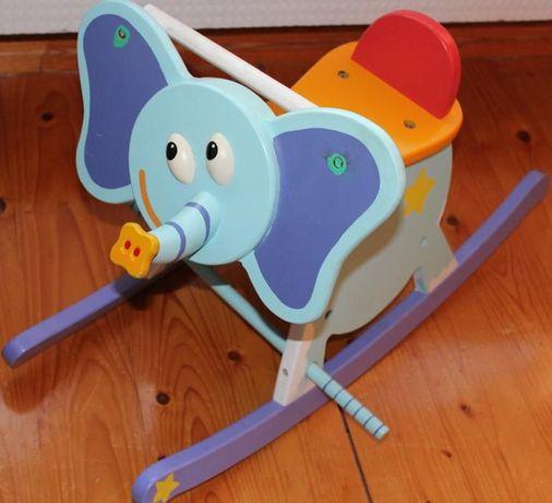 Słoń słonik bujak na biegunach huśtawka BoiKido