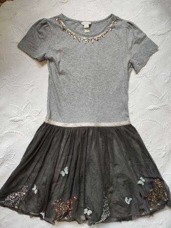 Шикарное нарядное платье Monsoon 12-13лет в прекрасном состоянии