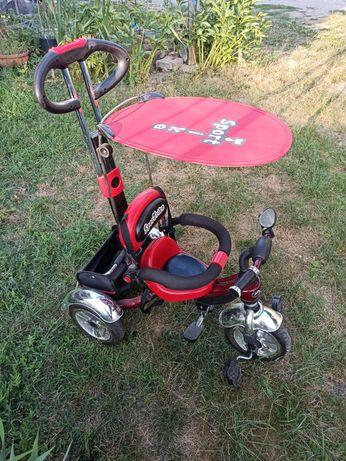 Rower, rowerek trójkołowy Sport Trike, pompowane koła