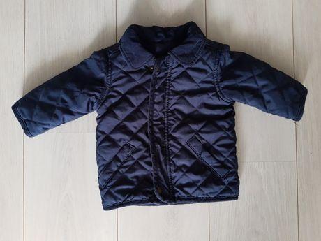 Elegancka pikowana kurteczka na jesień 3-6 mscy George