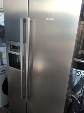 Entrega garantia frigorífico americano Bosch inox