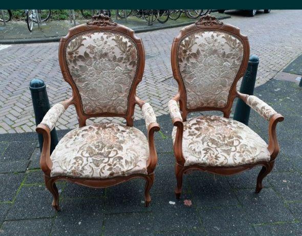Fotele stylowe Ludwikowskie