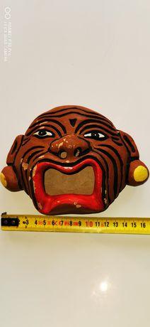 Maska z gliny Afryka