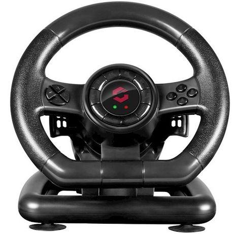 Ігровий руль та педалі speedlink black box sl 650300 bk