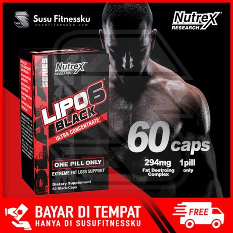 Lipo-6 Black Ultra-Concentrate 60кап