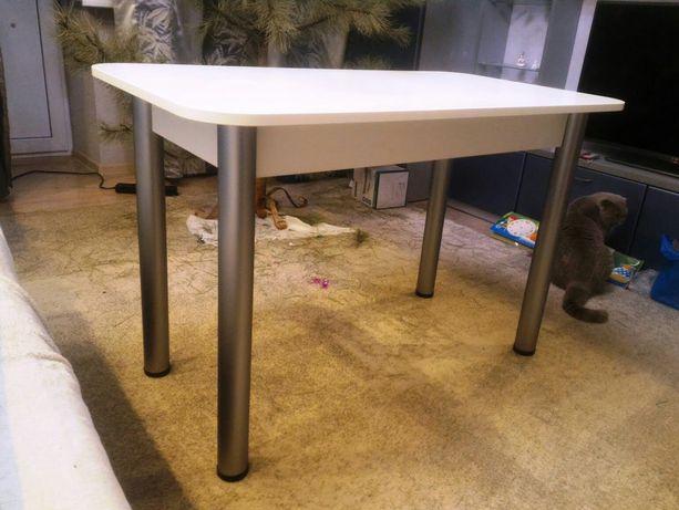 НОВЫЙ КРАСИВЫЙ обеденный стол!!! Белый стол на кухню, в столовую!!!