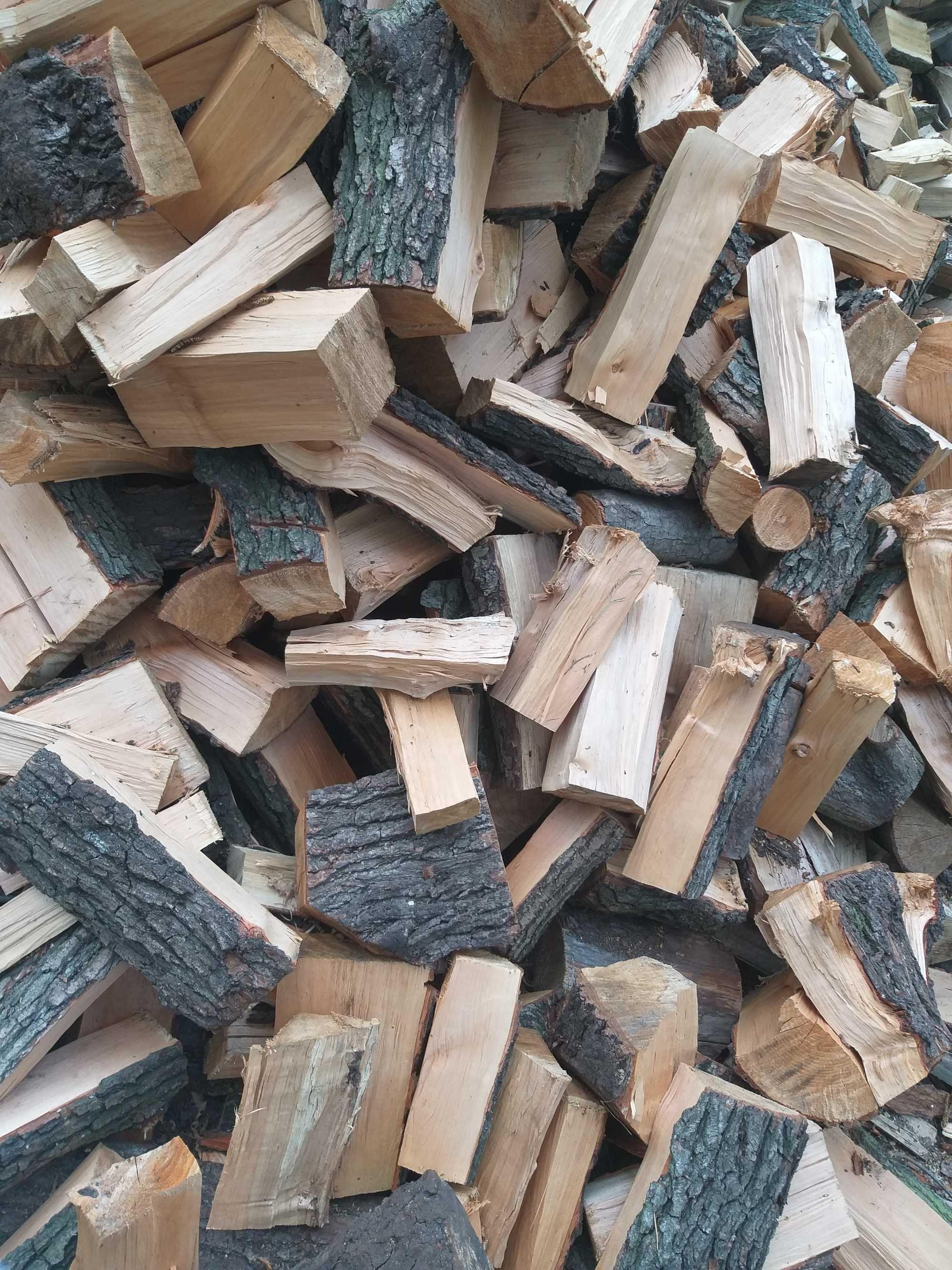 Drewno drzewo opałowe sosna olcha dąb buk zrzyny drewno rozpalkowe