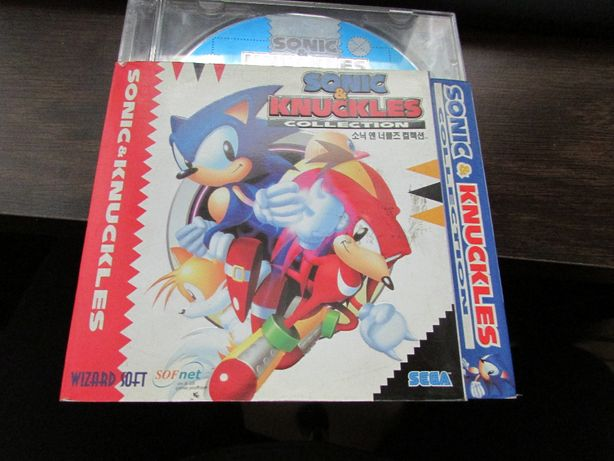 Gra Sonic & Knuckles collection PC 1997 retro japonskie wydanie