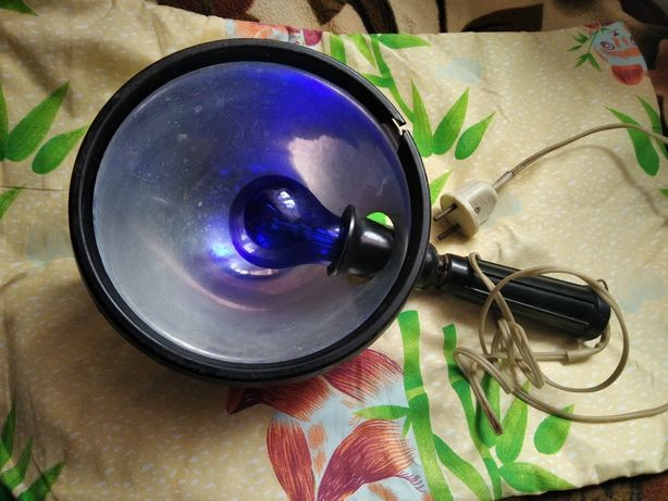 Синяя лампа. Рефлектор