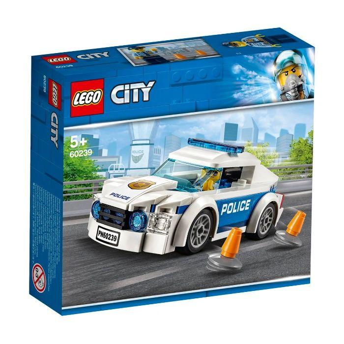 Klocki LEGO City Samochód policyjny 60239 Strzelce Wielkie - image 1