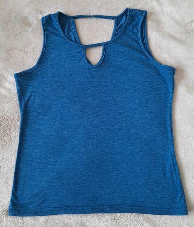 Koszulka bawełniana bez rękawów