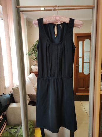 Темно-синее платье Синя сукня Naf naf