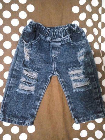 Стильные джинсы на д/м 6-9 мес
