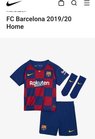 Nike ОРИГИНАЛ Детская футбольная форма,ФК Барселона 2-3 года р.92-98