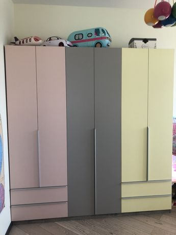 Детская мебель спальня кровать шкаф тумба этажерка