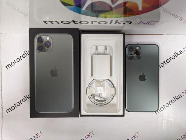 iPhone 11 Pro 256 Midnight Green 87% Neverlock Магазин! Гарантия 3мес