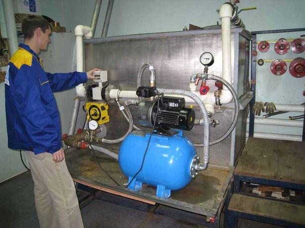 Ремонт водяных насосов, насосных станций, перемотка электродвигателей