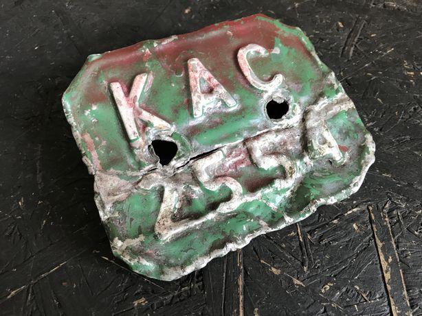 Romet Motorynka Kadet Komar Polo tablica rejestracyjna slask