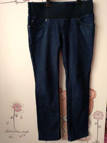 Spodnie ciążowe jeansy z niskim pasem 36 S