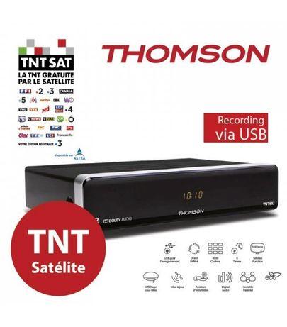 Thomson TNTSAT HD Receptor + cartão novo PC6