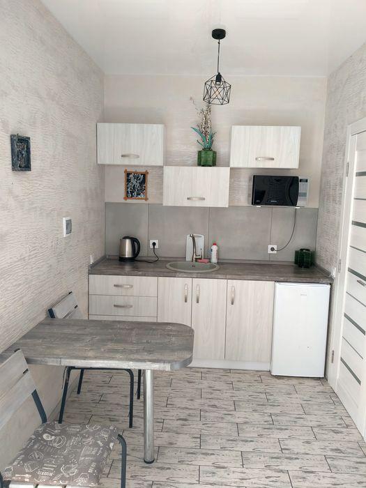 Студио для двоих с санузлом и кухней-1
