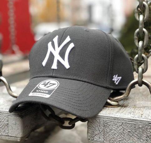 Кепка 47 Brand MVP NY Yankees (original) осенняя бейсболка 15% шерсть