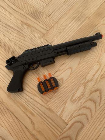 Рушниця пистолет на присосках играшка