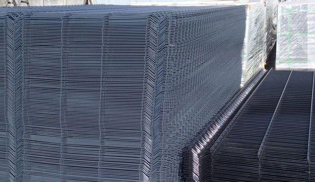 Panele ogrodzeniowe Fi 4mm fi5mm różne wysokości ocynk+kolor