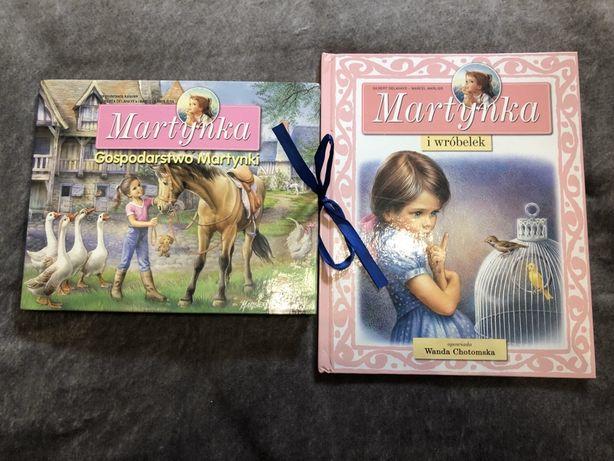Dwie książeczki, jedna 3D z serii Martynka